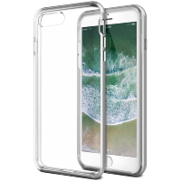 Чехол VRS Design New Crystal Bumper для iPhone 7/8 Plus Серебро